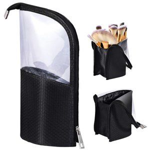 Make-up Brush Holder Organizer Zipper Pouch Bag